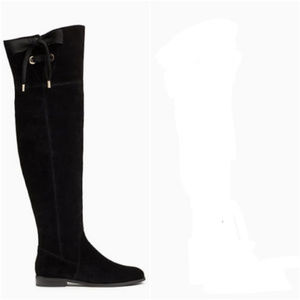 NWT Kate Spade Rebecca Over The Knee Suede Boots